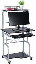 EBTOOLS Computer Desk,Wooden Computer Desk Cart