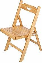 EBTOOLS Folding Chair,Portable Bamboo Folding