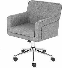EBTOOLS Mobile Armchair, 360 Degree Swivel Velvet