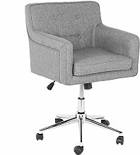 EBTOOLS Office Chair with Wheels and Backrest,