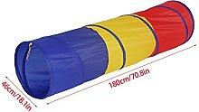 EBTOOLS Play Tunnel,1.8m Portable Folding