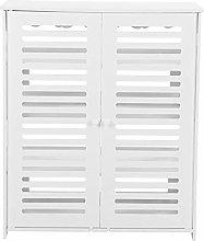 EBTOOLS Shoe Rack,4 Tier Shoe Cabinet Cupboard