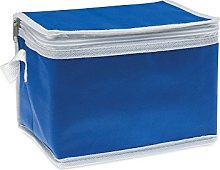 eBuyGB 6 Can Cooler Bag, Non Woven, Blue