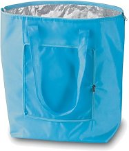 eBuyGB Folding Cooler Bag, Polyester, Blue