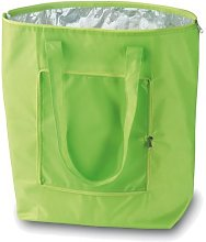 eBuyGB Folding Cooler Bag, Polyester, Green