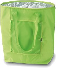 eBuyGB Folding Cooler Bag, Polyester, Green
