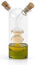 eBuyGB Olive Oil and Vinegar Glass Cruet Dispenser