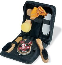 eBuyGB Shoe Shine Kit, Polyester, Black