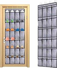 Ecbrt Over the Door Shoe Organiser 24 Pockets
