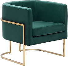 Echo Armchair Fairmont Park Upholstery Colour: