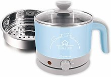 ecHome 1.2L Electric Cooking Kettle Pot Cooker for