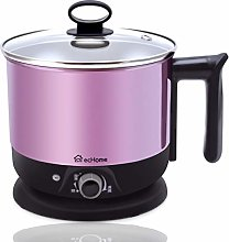 ecHome 1.2L Mini Portable Electric Travel Cooking