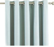 Eclipse Blackout Eyelet Curtains (66 x 54in (168 x