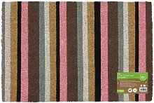 Eco-Friendly Colour Pattern Latex Backed Coir