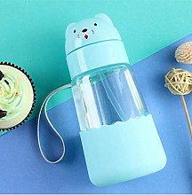 Eco-Friendly Kids Cartoon Water Bottles Glass