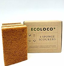 Eco Friendly Kitchen Sponge Scourer 100%