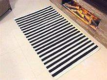 Eco friendly Striped Black and White Handmade