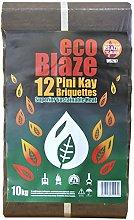 EcoBlaze Pini-Kay Briquette - Long Burning