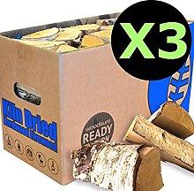 EcoBlaze Ready to Burn Kiln Dried Firewood - 3