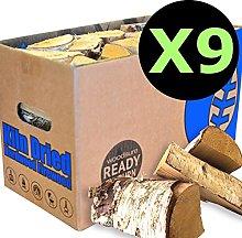EcoBlaze Ready to Burn Kiln Dried Firewood - 9