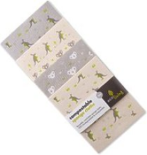 ecoLiving Compostable Sponge Cleaning Cloths -
