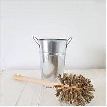 ecoLiving - Plastic Free Toilet Brush - cream -