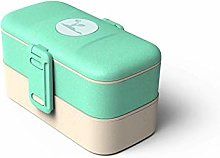 Ecolunchware Lunch Box 2 Tier Bento Box Stackable