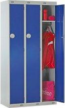 Economy 1 Door Locker Nest Of 3, 90wx30dx180h