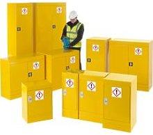 Economy Hazardous Substance Storage Cupboards,