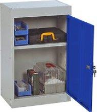 Economy Small Storage Locker, Red