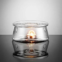 Ecooe Glass Teapot Warmer Tealight Warmer for