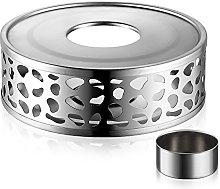 Ecooe Stainless Steel Teapot Warmer Base with