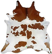 eCowhides Brown and White Cowhide Rug Cow Hide