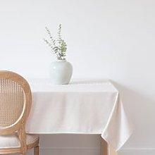Ecru and Beige Tablecloth 150x250