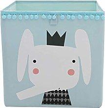 ECSWP Collapsible Toys Storage Box Fabric Cube Bin