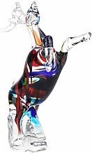 ECSWP MDWJKSP Colorful Sculpture Handmade Glass