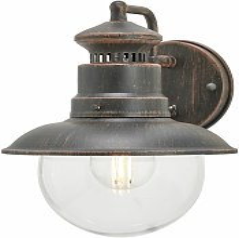 Eddie Outside Wall Light Rustic IP44