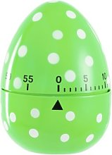 Eddingtons 60 Minute Egg Timer, Green Spotted