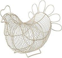 Eddingtons Chicken Egg Basket (Cream)