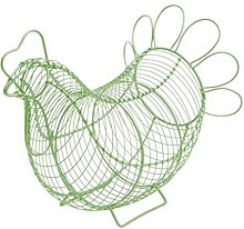 Eddingtons Chicken Egg Basket (Sage Green)