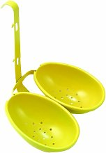 Eddingtons Egg Poacher, Double, Yellow