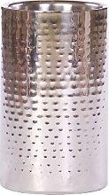 Eddingtons Ltd - Hammered Wine Cooler - Silver