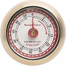 Eddingtons Retro Magnetic Kitchen Timer Brass
