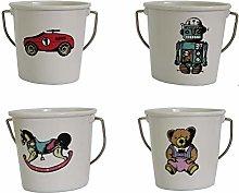 Eddingtons Set of 4 Vintage Toys Egg Cups
