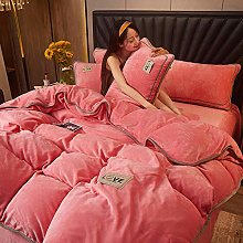 eddy bear bedding single red,Winter Warm Simple