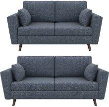 Eden 2 Piece Living Room Set Hykkon Upholstery