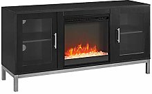 Eden Bridge Designs 132 cm Wood Fireplace TV