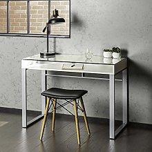 Eden Bridge Designs Computer Desk with Storage,