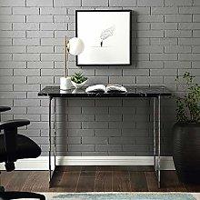 Eden Bridge Designs Desk, Black Marble, One Size