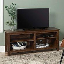 Eden Bridge Designs TV Media Stand Storage